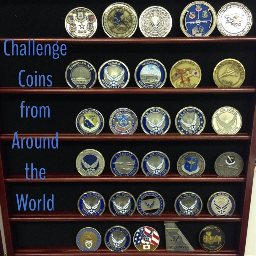 challenge coins from around the world at atec atec