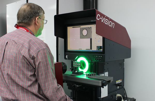 Atec's New Optical Comparator | Atec Inspector Silhouette