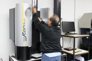 Picture of new machinery at Atec