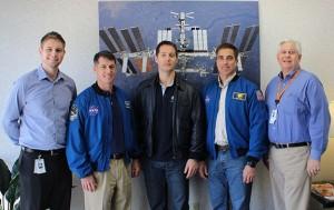 Astronauts visit Atec