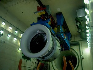 Overhead thrust stand