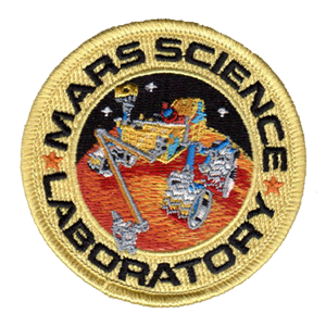 MARS SCIENCE LAB PATCH