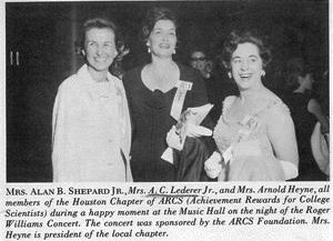 Mrs. Shepard and Lederer
