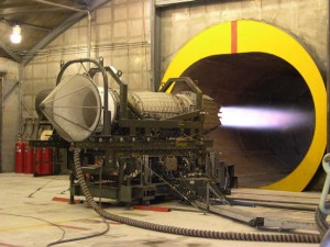 F119 Engine Test